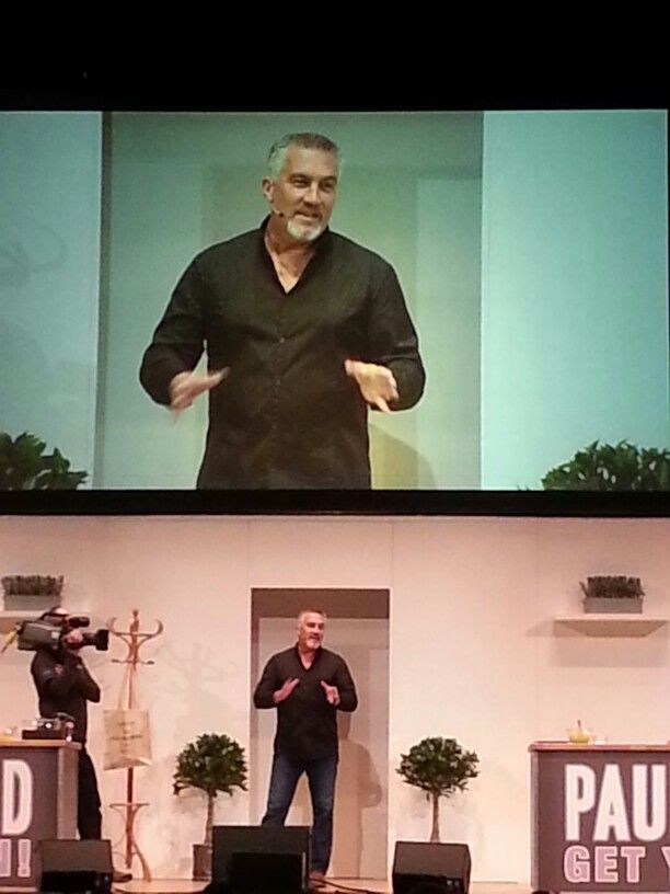 Paul Hollywood. Get your bake on live sheffield