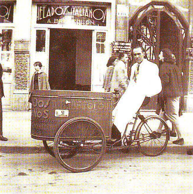 Puestos ambulantes de venta de horchata