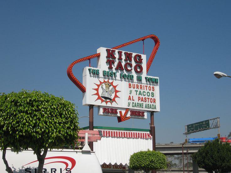 King Taco - Los Angeles, CA.  Favorite items: carne asada tacos, carne asada burrito, horchata.