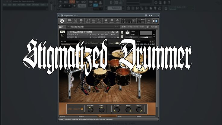 Stigmatized Producctios - Stigmatized Drummer - Death Metal Demo