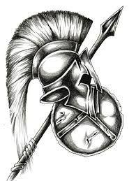 spartan helmet drawing - Google Search