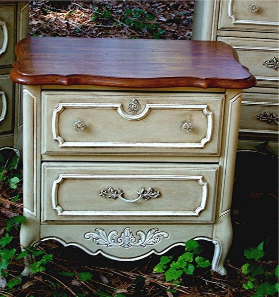 chalk painted end tables - Google Search