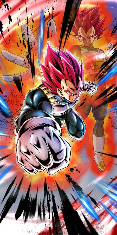 Vegeta Ssj God Dragon Ball Legends Dragon Ball Super Manga