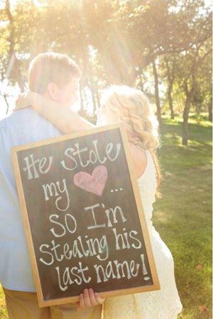 wedding sign brides of adelaide magazine