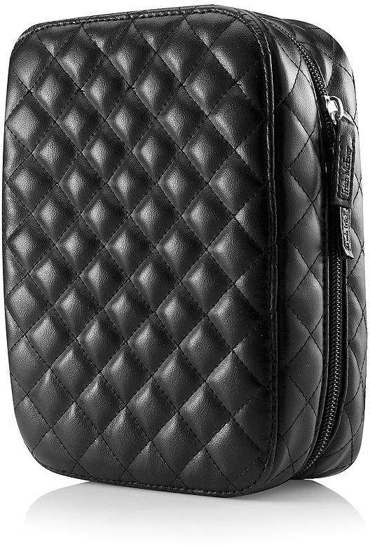 Trish McEvoy Deluxe Makeup Planner®, Classic Black Quilted