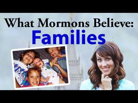 What Mormons Believe: Families Ha Ha It's about Jesus not your family www.theromanroad.org  #LDS
