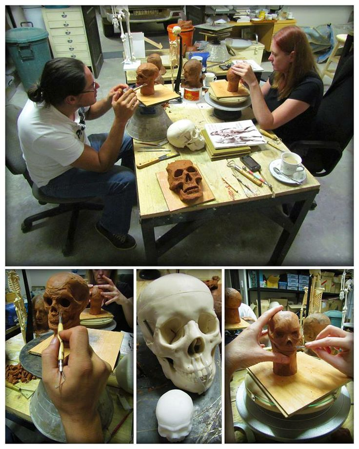 Sculpture classes with Daniel Nell