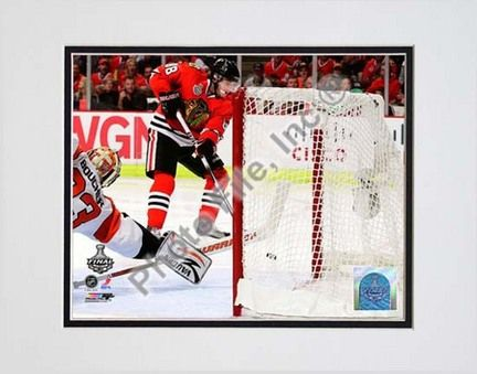 Patrick Kane Game Five of the 2010 NHL Stanley Cup Finals Goal (#20) Double Matted 8â€� x 10â€�… #sports #sportsshopping #sportswear