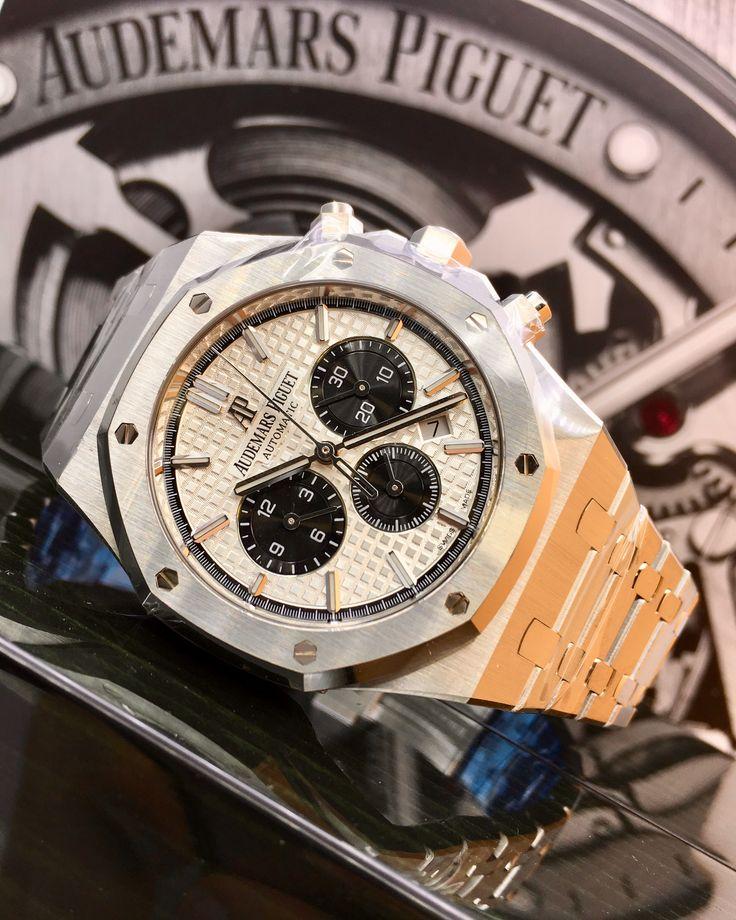 Audemars Piguet Royal Oak Chronograph Stainless Steel Silver Dial 26331ST.OO.1220ST.03