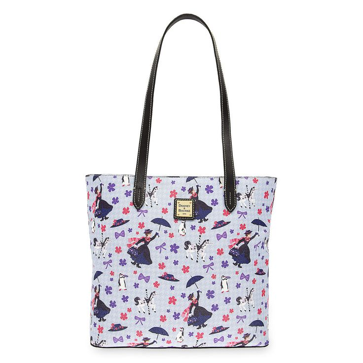 It's A Jolly Holiday With Mary! The Mary Poppins Dooney & Bourke Print Is Now Available Online!