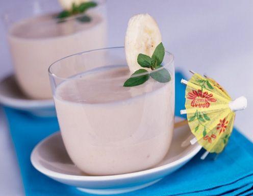 Bananenmilch (Himbeer- und Erdbeermilch) - Rezept - ichkoche.at