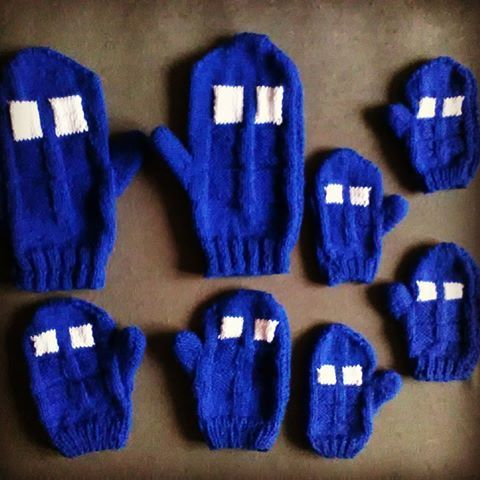 Just finished order for a #whovian family :) #tardis #tardishandmade #tardisknitting #tardisfanart #doctorwho  #doctorwhohandmade #doctorwhoknitting #doctorwhofanart #tardisgloves #tardismittens #gloves #mittens #nerd #geek #knitting #handmade #dw #dwfanart #doctor #etsy https://www.etsy.com/listing/483604371/tardis-gloves-fingerless-or-with-one?ref=shop_home_active_1