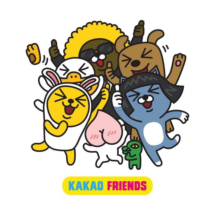 The 24-Hour Mommy: Meet Kakao Friends on KakaoTalk!