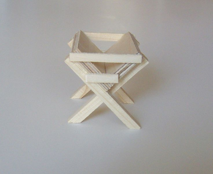 krippenzubeh r futterkrippe futterraufe krippe f r jesuskind krippendekoration basteln. Black Bedroom Furniture Sets. Home Design Ideas