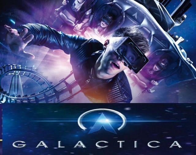 Tecnoneo: 'Galactica' de Alton Towers Resort es una montaña rusa de Realidad Virtual