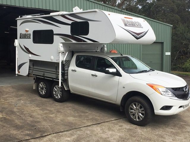 The 855S on a Mazda BT50...nice