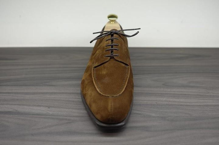 Edward Green Dover in snuff suede. Now available at www.kevinseah.com
