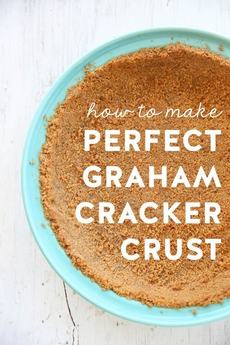 There is nothing quite like a buttery homemade graham cracker crust. The filling options are endless, from cream pies to ice cream, to no-bake cheesecakes. You can pop just about anything in a graham cracker crust. We have lots of pie recipes involving graham cracker crusts, but I thought this was a great, basic recipe... Read Post