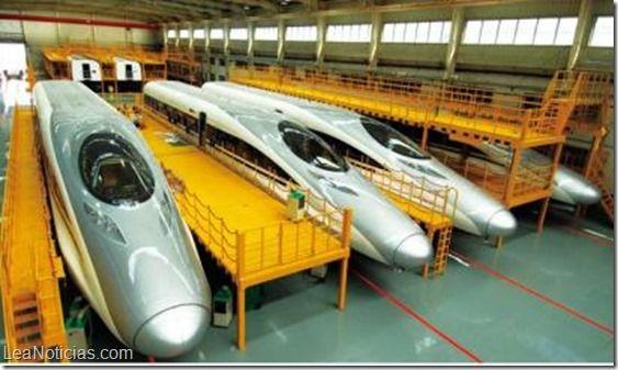 """Conoce el tren de alta velocidad """"Hexie"""": confort sobre rieles a la velocidad de un F1 - http://www.leanoticias.com/2014/11/05/conoce-el-tren-de-alta-velocidad-hexie-confort-sobre-rieles-a-la-velocidad-de-un-f1/"""