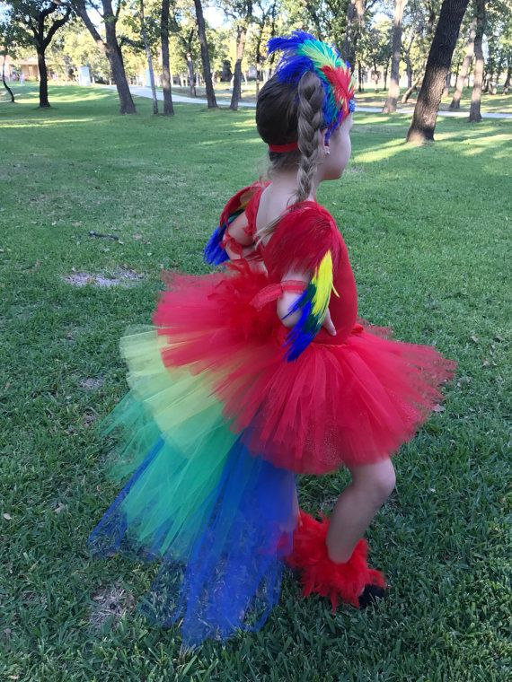Parrot costume macaw costume parrot wings parrot by TheTwirl