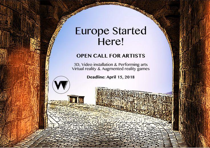 Europe Started Here: #Celebrate the European Year of #CulturalHeritage 2018. #opencall for #artists for the @eyeswalkfest. Applications Deadline: April 15, 2018 Media Sponsor: KROMA Magazine #KROMAmediasponsor #KROMAmag #artmobile #festivals