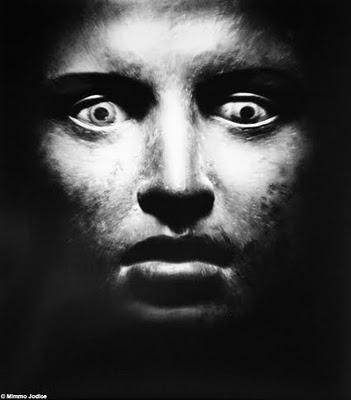 Mimmo Jodice - Figure del mare - Volto di Atleta dalla Villa dei Papiri di Ercolano, 1986