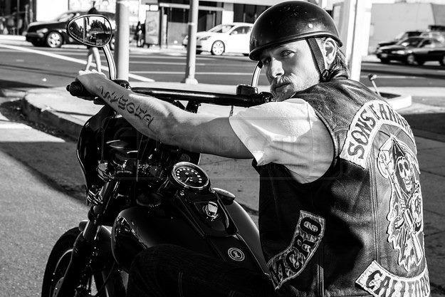 Charlie Hunnam as Jax Teller | Sons of Anarchy | Pinterest