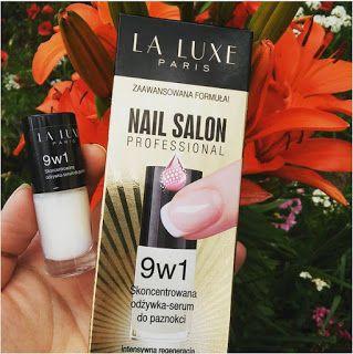 afra3szafra - moje testowanie : LA LUXE PARIS - odżywka- serum do paznokci