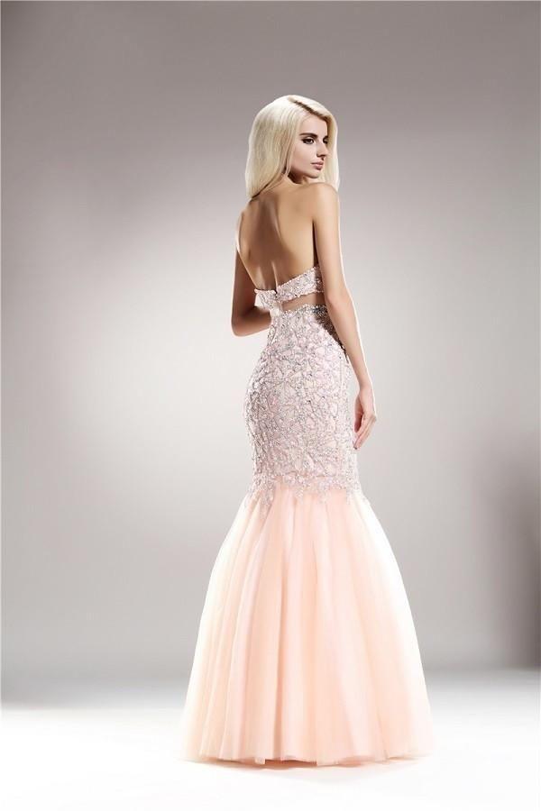 Evening gown dress up