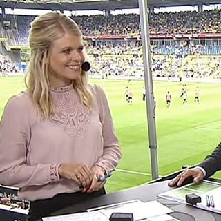 This season's favourite lace blouse @hsmidstrup on Tv3 Sport