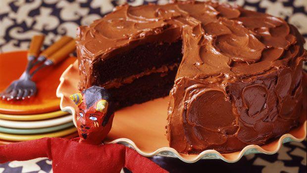 devil s food cake with brown sugar buttercream recipes dishmaps devil ...
