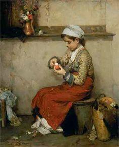 Νικηφόρος Λύτρας, Το αυγό (ωόν) του Πάσχα. 1874-1875.