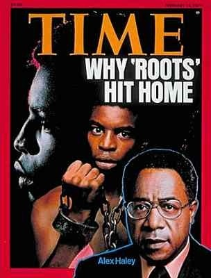 Author Alex Haley On The Cover Of Time Magazine