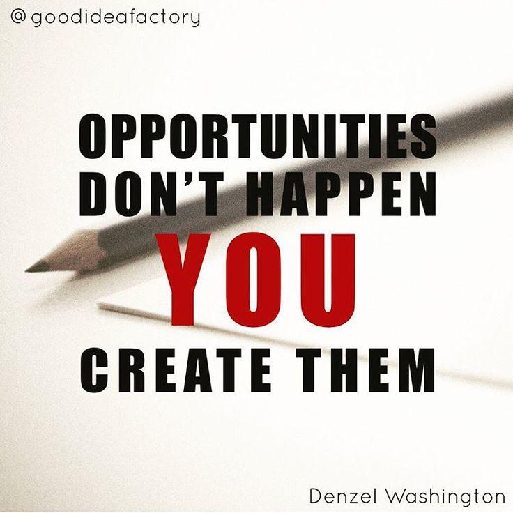 A lehetőségek nem maguktól adódnak, Te alkotod őket!. - #goodifmotivation #motivation #inspiration #work #business #fame #entrepreneur #success #successful #quote #quotes #motiváció #inspiráció #munka #siker #vallalkozas #hungary #hungarian #instahun #mik #instakozosseg #idezet #idezetek #opportunities #create
