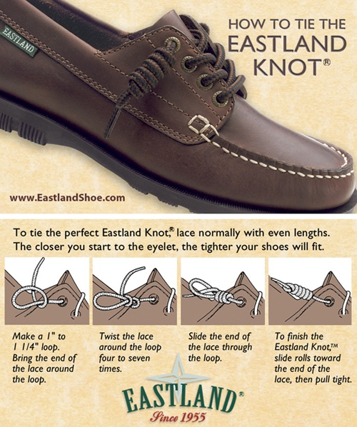 How To Tie Laces On Deck Shoes
