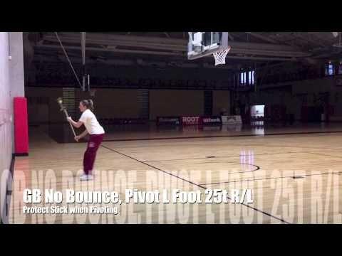 Denver Women's Lacrosse Defensive Stick Work #1