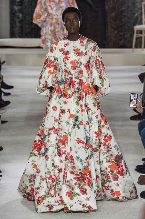 Alta Costura primavera-verano 2019: Valentino. #Valentino