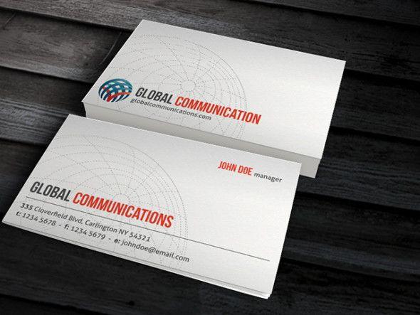 CP00001-Corporate-Globe-Business-Card-Templates => more at designresources.io