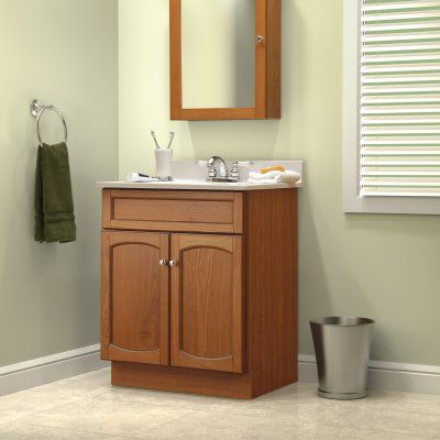 Foremost Heartland 16 625 In Oak Bathroom Medicine Cabinet Heoc1724