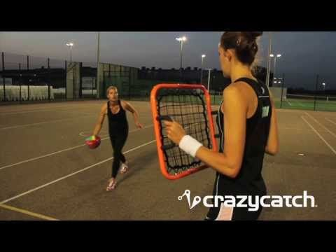 Anywhere Freestyle- England Netball #MtGL Drill with Crazy Catch for by Tamsin Greenway - YouTube