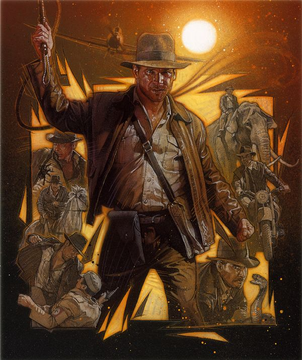 Indiana Jones by Drew Struzan