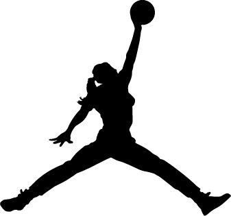 Girl Basketball Players Sticker - Car Stickers