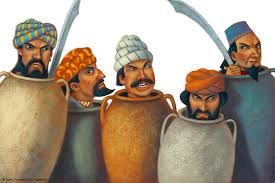 free art and craft activities for children on ali baba and the 40 thieves - Google Search