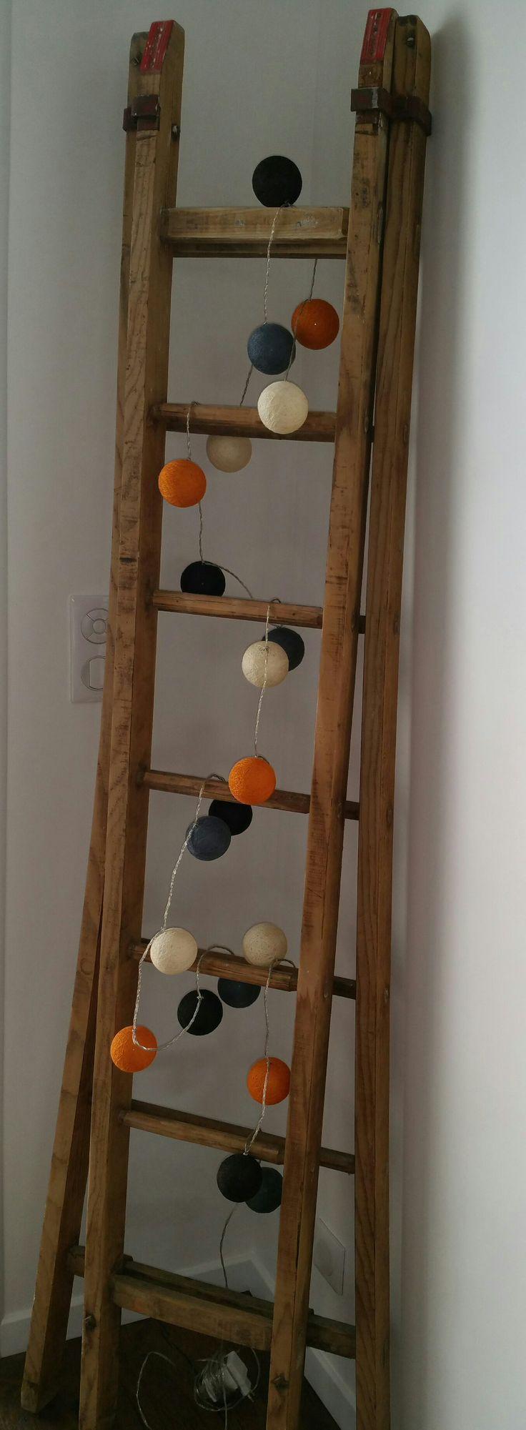 une vieille chelle de peintre d tourn e d coration pinterest. Black Bedroom Furniture Sets. Home Design Ideas