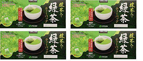 Kirkland Ito En Matcha Blend Japanese Green Tea, 1.5g tea bags, 400 Count