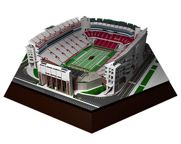 the Stadium Shoppe - Arkansas Razorback - Razorback Stadium Replica, $179.99 (http://www.thestadiumshoppe.com/arkansas-razorback-razorback-stadium-replica/)