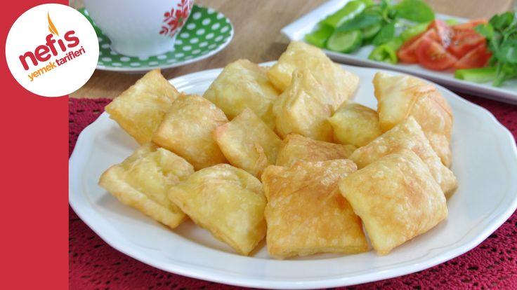 Hazır Yufkadan Kolay Pişi Tarifi | Pratik Kahvaltılık Börek Yapımı