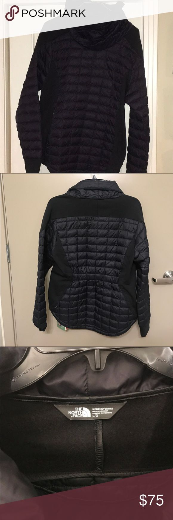NWOT NorthFace Thermaball Ladies jacket Just bought.  Took off tags and didn't fit,   Really versatile and cute!  Great quality and details! North Face Jackets & Coats Puffers