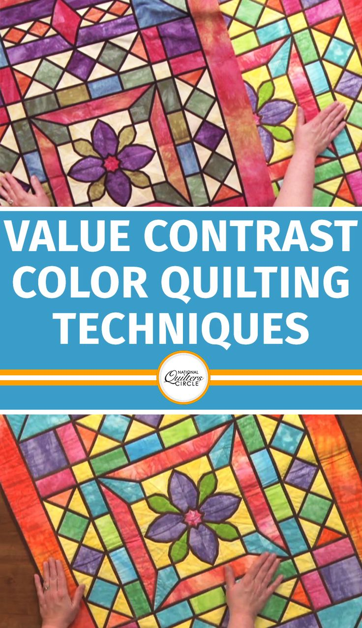 Heather Thomas explains contrast and how you use it is one of the most important principles when it comes to design. For example, you can have a very high contrast if the fabrics are very different in value and color and a low contrast if they are very similar in color and value. Take a look at a neutral quilt, colorful quilts, and well-shaped quilts to help you better understand.