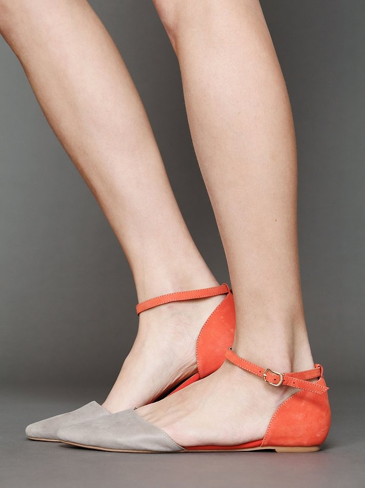 Jeffrey Campbell Roulette Flat  http://www.freepeople.com/whats-new/roulette-flat/